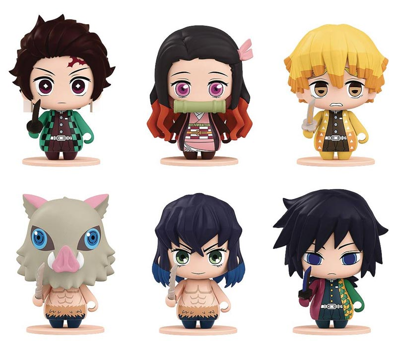 Demon Slayer Pocket Maquette Collection 1 all figures
