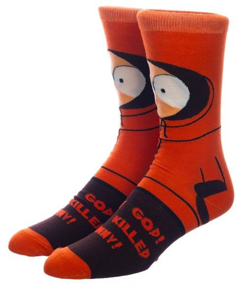 South Park Kenny 360 Character Crew Socks