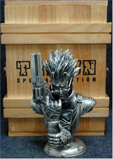 Trigun Solid Pewter Mini Bust
