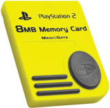 PS2 8MB Memory Card by Nyko
