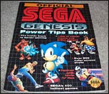 Official Sega Genesis Power Tips Book