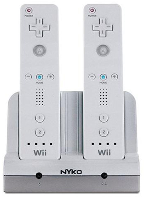Nintendo Wii Charge Station White