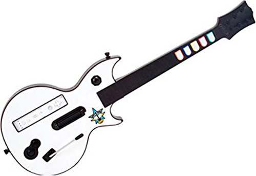 Wii Rock Icon Guitar