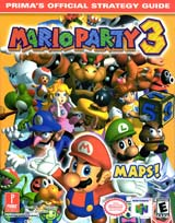 Mario Party 3 Official Strategy Guide Book