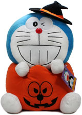 Doraemon Halloween Jack-O'-Lantern 16 Inch XL Plush