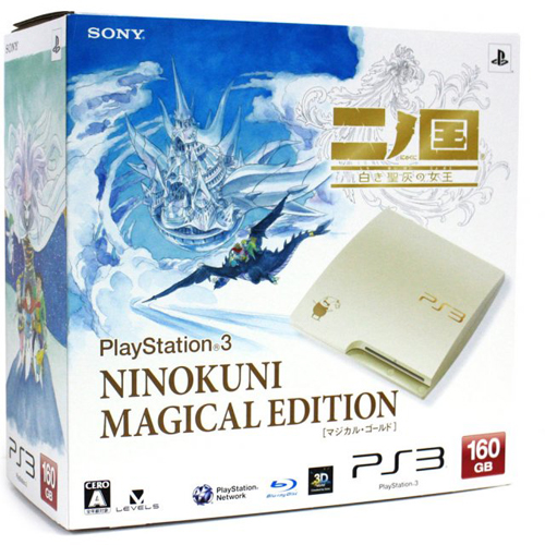 Sony PlayStation 3 Slim 160GB Ninokuni Magical Edition Bundle