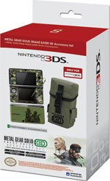 Nintendo 3DS Metal Gear Solid Snake Eater 3D Accessory Set