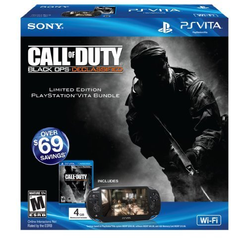 PlayStation Vita Call of Duty: Black Ops Declassified Limited Edition Wi-Fi Bundle
