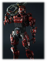 Halo 4 Play Arts Kai Spartan Soldier Action Figure