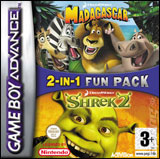 Shrek 2 / Madagascar: 2 in 1 Game Pack