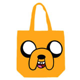 Adventure Time Jake Face Canvas Tote Bag