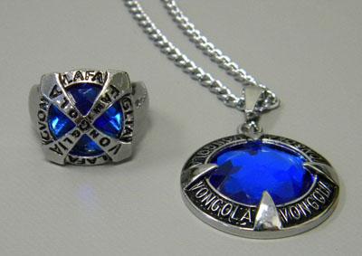 Katekyo Hitman Reborn! Necklace and Ring 2