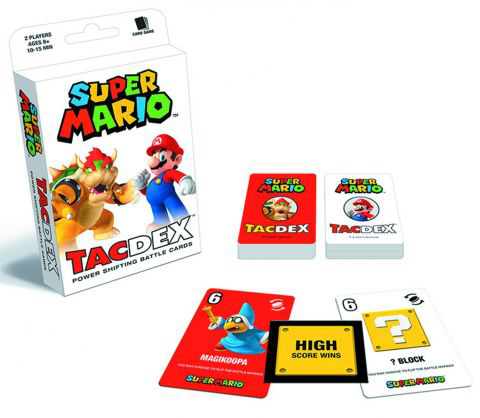 Nintendo Super Mario TacDex Playing Cards