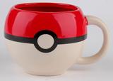 Pokemon Pokeball Molded 10oz Coffee Mug