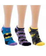 Batman Ankle Socks 3 Pack