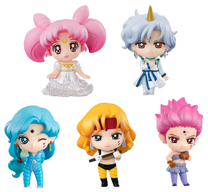 Sailor Moon Petit Chara SuperS Figs