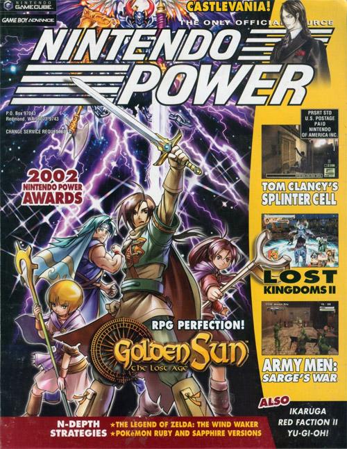 Nintendo Power Volume 168 Golden Sun: The Lost Age