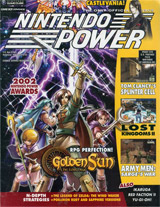 Nintendo Power Volume 168 Golden Sun: The Lost Age