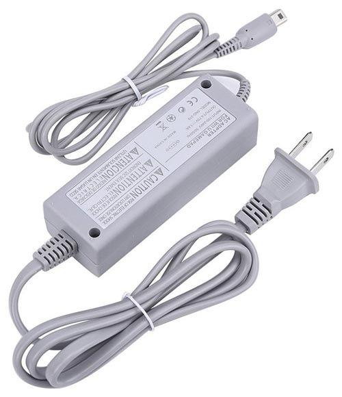 Wii U Gamepad AC Adapter by Nintendo