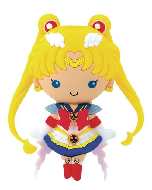 Sailor Moon Super Sailor Moon 3D Foam Magnet