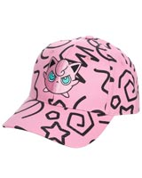Pokemon Jigglypuff Scribbles All Over Print Hat