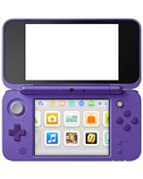 New Nintendo 2DS XL Purple + Silver System Trade-In