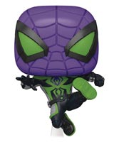 Pop Games Spider-Man: Miles Morales Purple Reign Suit Vinyl Figure