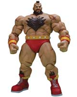 Street Fighter II Final Zangief Storm Collectibles 1/12 Action Figure
