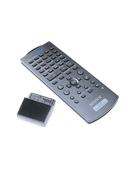 PS2 DVD Remote with IR Receiver Unit by Sony