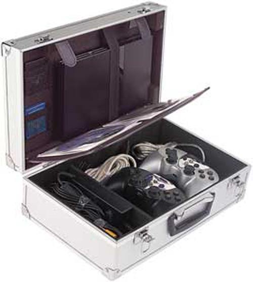 PS2 Aluminum Pro Gamers Case For Slim PS2