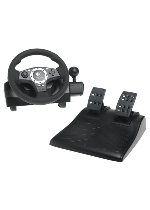 PS2 Driving Force Pro Wheel by Logitech