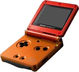 Nintendo Game Boy Advance SP Metroid Edition