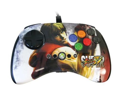 Xbox 360 Super Street Fighter IV FightPad - Ken