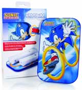 Wii Sonic the Hedgehog 2X Inductive Charger by MadCatz