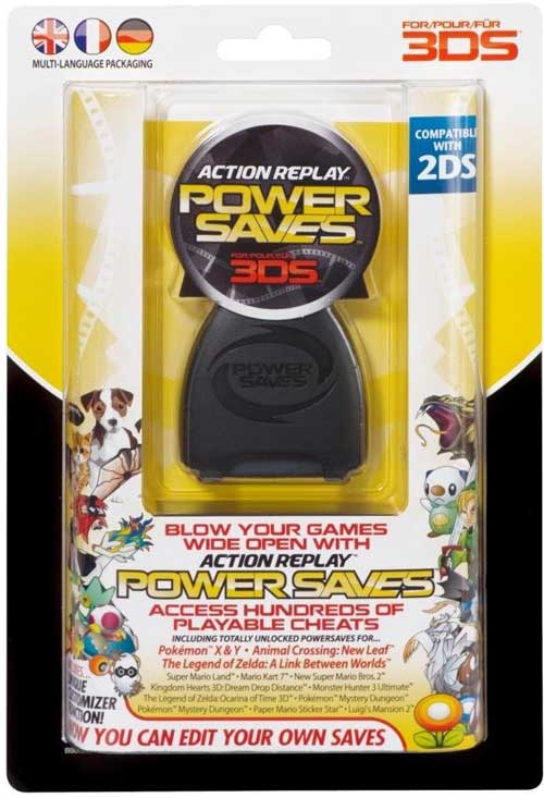 3DS / 2DS Action Replay Power Saves