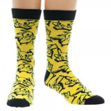 Pokemon Pikachu Sprite Crew Socks