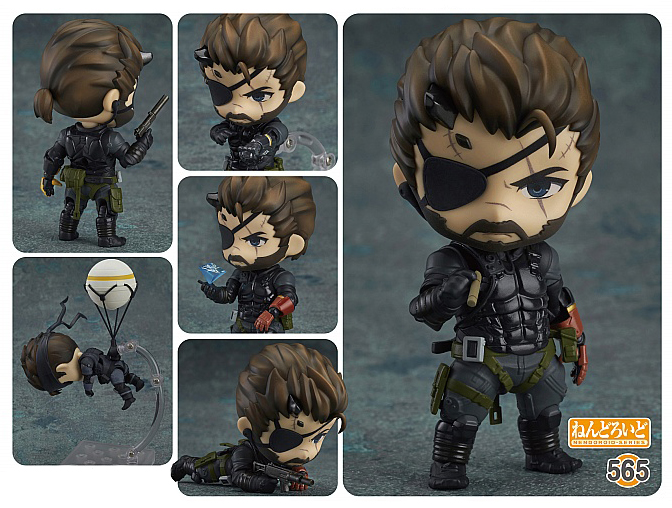 Metal Gear Solid V: Phantom Pain Venom Snake Sneaking Suit Nendoroid