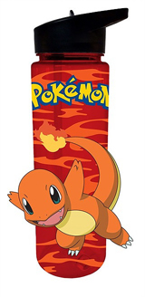 Pokemon Charmander 16oz Water Bottle