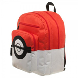 Pokemon Pokeball Backpack with Trainer Bag Charm