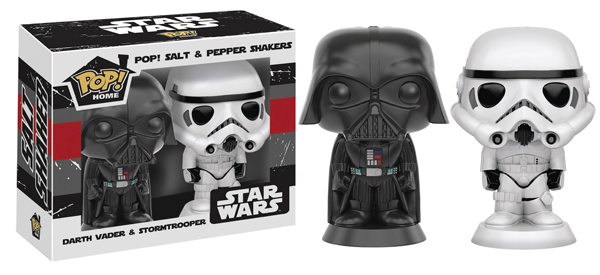Pop Home Darth Vader and Stormtrooper Salt N Pepper Shakers