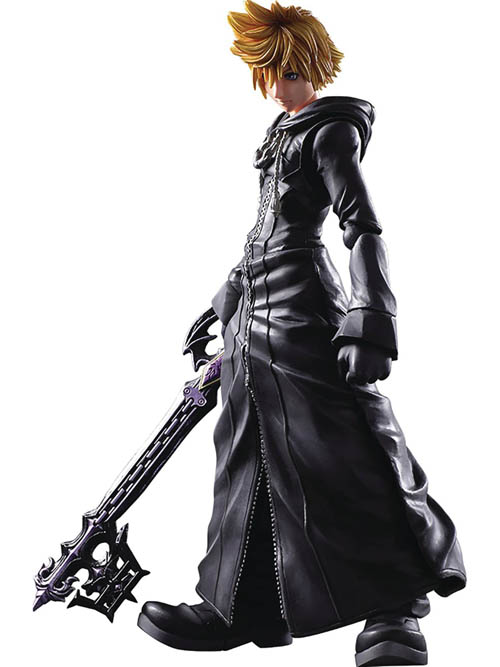 Kingdom Hearts II Organization XIII Roxas Action Figure