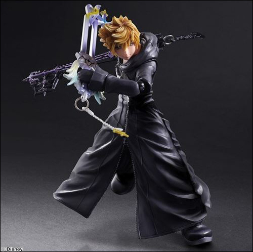 Kingdom Hearts II Organization XIII Roxas Action Figure 1