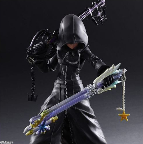 Kingdom Hearts II Organization XIII Roxas Action Figure 2