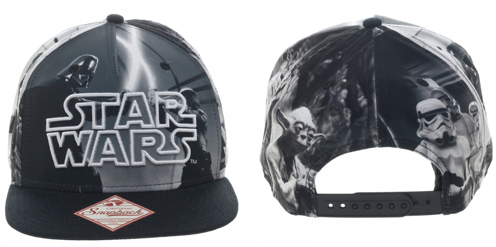 Star Wars Sublimated Character Snapback
