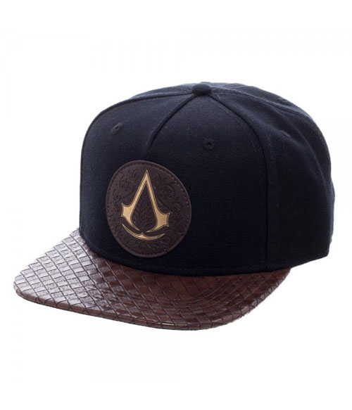 Assassin's Creed Movie Logo PU Bill Snapback