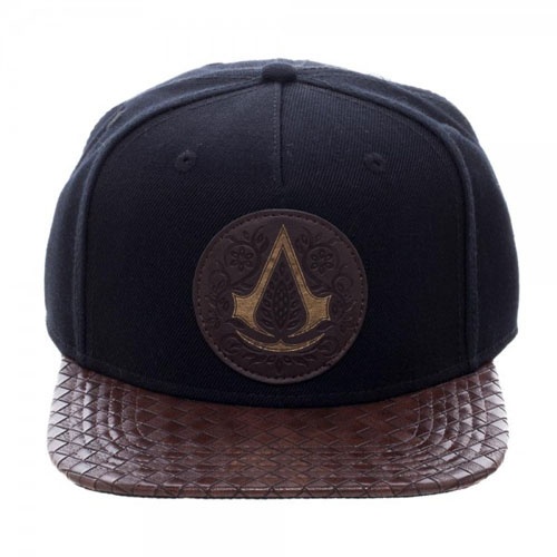 Assassins Creed Movie Logo PU Bill Snapback Front