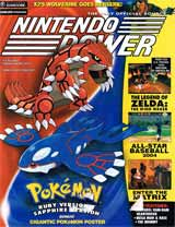 Nintendo Power Volume 167 Pokemon Ruby and Sapphire