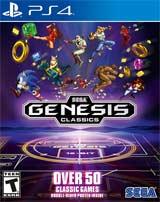 PS4 SEGA Genesis Classics Boxart