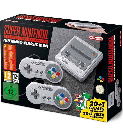 Super Nintendo Classic Edition European Version