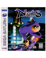 NiGHTS into Dreams Not For Resale Version